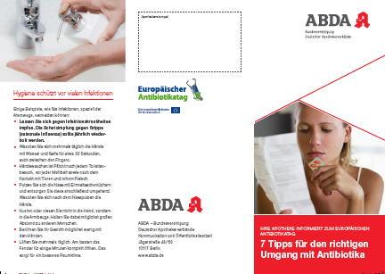 ABDA antibiotic leaflet