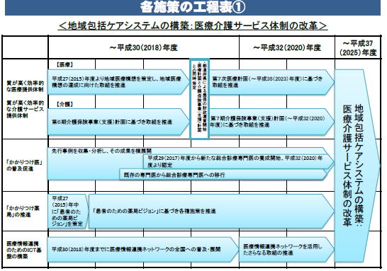 患者のための薬局ビジョン・工程表