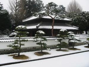 雪の足利学校