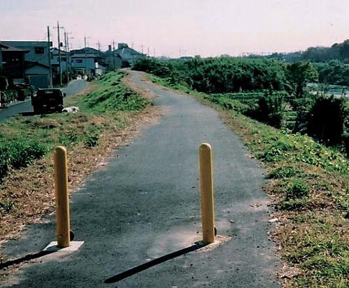 袋川左岸を遊歩道に!