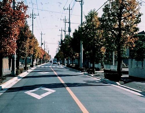 若草の道路整備